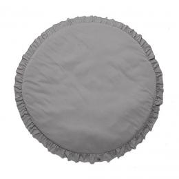 Round Padded Playmat Grey