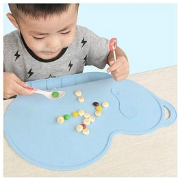 Silicone Placemat Blue