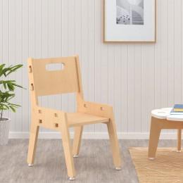 Silver Peach Chair– Natural