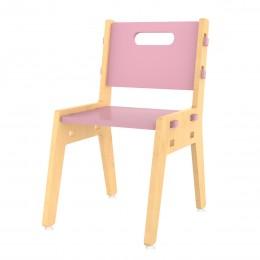 Silver Peach Chair– Pink