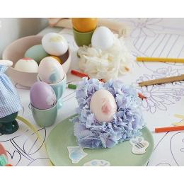Spring Bunny Egg Decorating Tattoo Kit