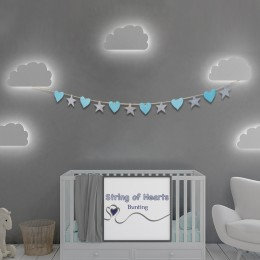 String of Hearts Bunting