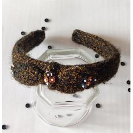 Sweater Knit Hairband - Black