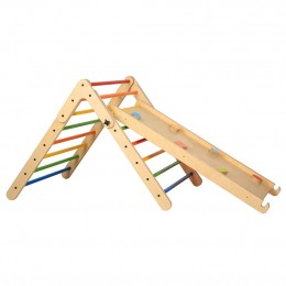 The Climbing/Pikler Triangle + Reversible Ramp