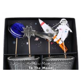 To The Moon Cupcake Kit