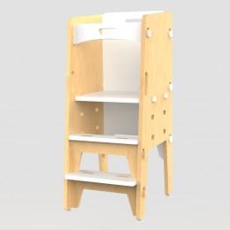 Yellow Lychee Kitchen Tower – White