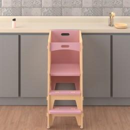 Yellow Lychee Kitchen Tower – Pink