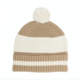 Camel Chunky Cotton Knitted Personalized Beanies