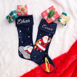 Out Of This World Santa Luxe Stocking