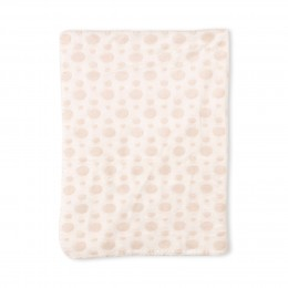 Creamy Teddy Blanket With Toy
