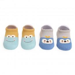 Friendly Animal Socks - 2 Pack