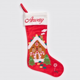 Gingerbread House Luxe Stocking