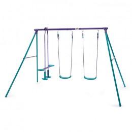 Jupiter Metal Swing Set