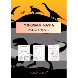 Learn All About Dinosaurs - Worksheets - 2-4 years