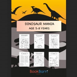 Learn All About Dinosaurs - Worksheets - 5-8 years
