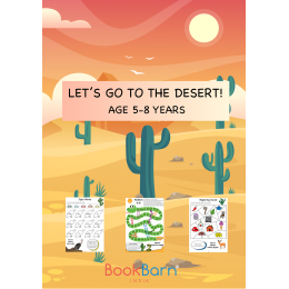Lets Go To the Desert - Worksheets - 5-8 years