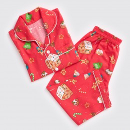 Men Sweet Christmas Pajama Set