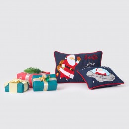 Out of This World Santa Pillow