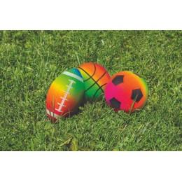 Rainbow Game Balls - Set of 3