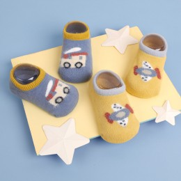 Travelling Tots Blue And Yellow Socks