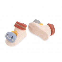 Whale And Car 3D Socks - 2 Pack