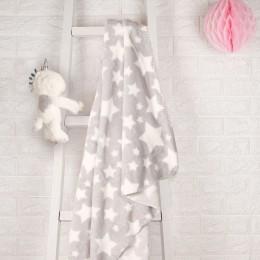 White Unicorn Blanket With Toy