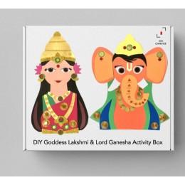 DIY Goddess Lakshmi and Lord Ganesha Activity Box