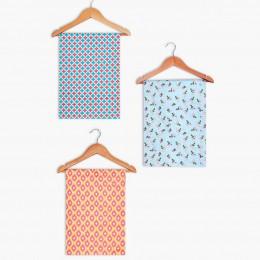Ikkat/ Jaal/ Rose Girl's Swaddle Blanket