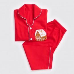 Men Gingerbread House Pajama Set