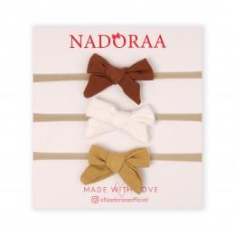 Nadoraa Beach Please Headband Set- Pack of 3