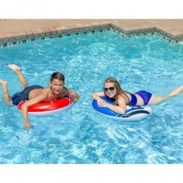 Racing Saucers Inflatable Pool Float (2-Pack)