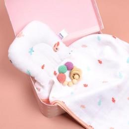 Cute Bunny Organic Baby Pillow