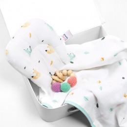 Friendly Squirrel Organic Baby Pillow