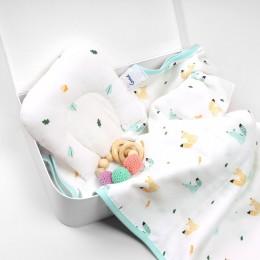 Nutty Nights Organic Baby Pillow