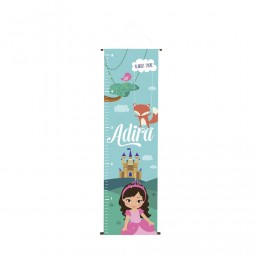 Up, Up and Away - Personalised Height Chart