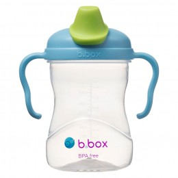 Soft Spout Cup 240ml- Blueberry Blue Green
