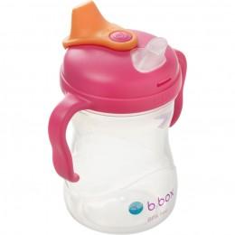Soft Spout Cup 240ml- Raspberry Pink Orange