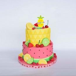 Cake Topper- Two-tti Fruity