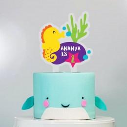 Cake Topper- Under The Sea