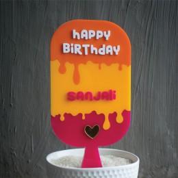 Cake Topper- Ice-cream & Popsicles