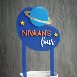 Cake Topper- Out of this World