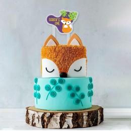 Cake Topper- Wild and Fun