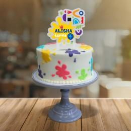 Cake Topper- Art Attack