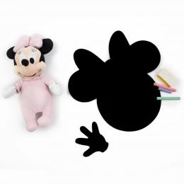 Meal Time Shaped Chalkboard Mat & Coaster - Minnie
