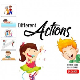 Actions - Baby Flash Cards - 24 Cards