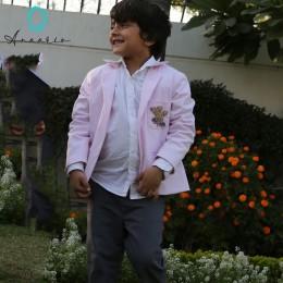 Gentleman Blazer - Baby Pink