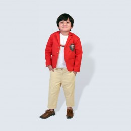 Gentleman Blazer - Red