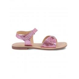 Gem Pink Embellished Sandals