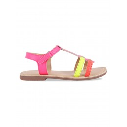 River Multi-Color Solid Sandals