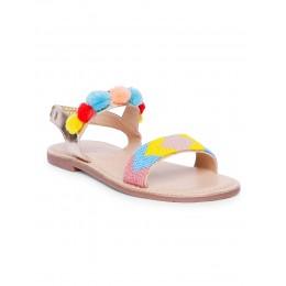 Seed Multi-Color Embellished Sandals